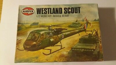 Vintage Airfix 1/72  Westland Scout Helicopter
