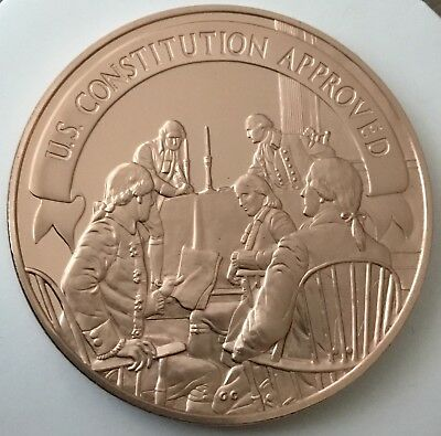 United States Constitution Approved Coin Medal