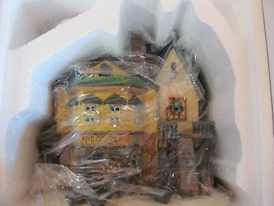 Dept 56 The Grapes Inn Dickens Village 5th Edition 1996 New In Box #57534