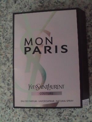 Yves Saint Laurent  Mon Paris   1,2 ml   Eau de Parfum  EdP  Probe  Neu