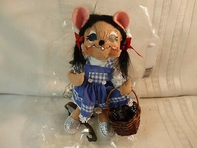 Annalee Dorothy from Wizard of Oz Doll, New with Tags & Bag