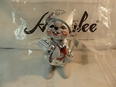 Annalee Wizard of Oz Tin Man Doll, with Original Tags and Bag