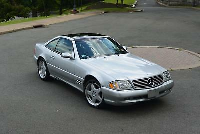 2000 Mercedes-Benz SL-Class SL500 2000 SL500 Used 5L V8 24V Automatic Convertible AMG Panoramic Roof