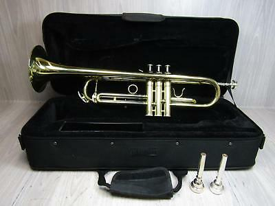 Jean Paul Trumpet With Case & Mouthpiece Musical Instrument