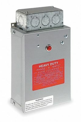 Phase-a-matic 3/4-1.5 HP Phase Converter, 208-241V, Static   PAM-200HD