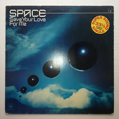 "Space - Save Your Love For Me 12"" Maxi French Electro Disco"