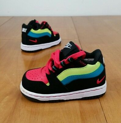 best website 3bf4e 1a25e Nike VUNK (Toddlers Size 4C) Multicolor TD Shoes Air Max 96 97 90