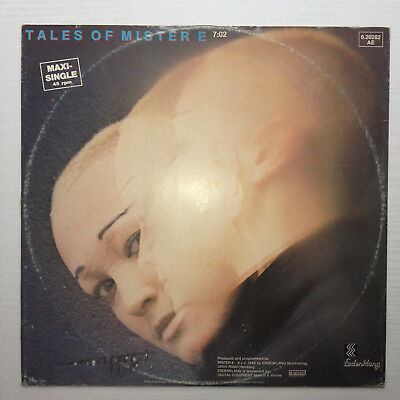 "Tales Of Mister E 12"" Maxisingle, Electronic, Erdenklang"