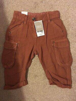 Bnwt Girls Next Cropped Trousers Long Shirts 4-5 Age 5