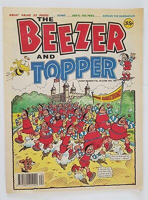 The Beezer and Topper No.39 June 15th 1991