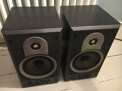 BOWERS WILKINS BW DM600 I BOOKSHELF SPEAKERS