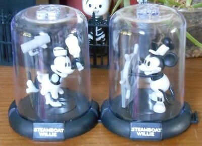 Domez Steamboat Willie Minnie Mouse and Mickey Mouse Disney