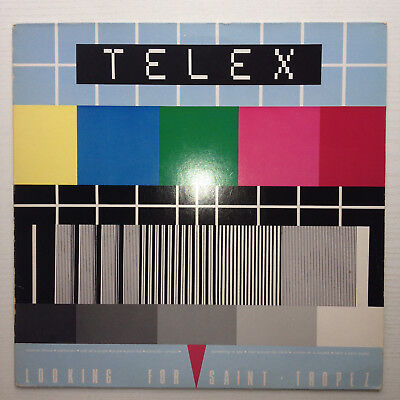 Telex ‎- Looking For Saint Tropez LP Electro Synthpop Classic