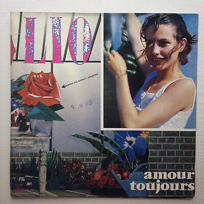 Lio ‎- Amour Toujours LP French Synth Disco, Jacno