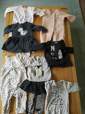 baby girl 3 to 6 months clothing bundle