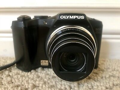 OLYMPUS SZ-31MR 16MP CMOS Camera with 24x Wide-Angle Zoom (Black)