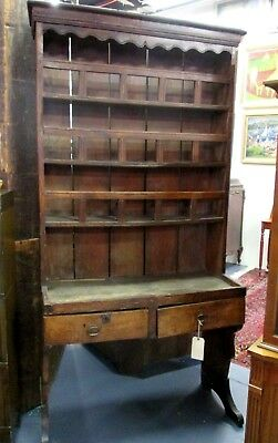 FRENCH PEWTER CUPBOARD_1700's RARE DIMINUTIVE 18thc ANTIQUE  SHREWSBURY MUSEUM