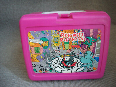 Pee Wee Herman Playhouse Plastic Lunch Box