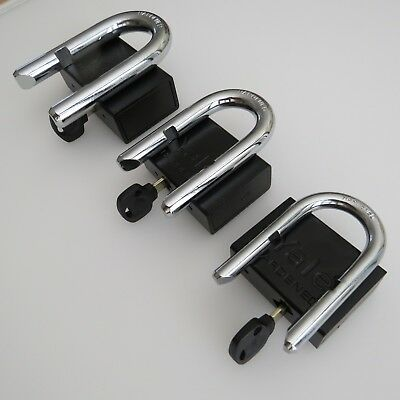 YALE PADLOCK HIGH SECURITY SHACKLE HEAVY DUTY KEYED ALIKE Mul-T-Lock Style