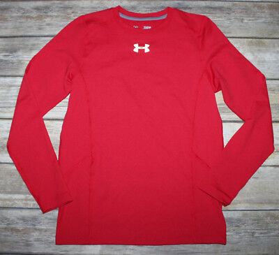 NWOT Boys UNDER ARMOUR UA Cold Gear Infrared Everyday LS Top Fitted Sz.YLG 14-16