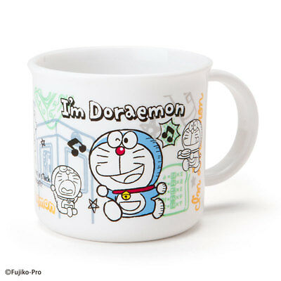 Doraemon Plastic Cup (I'm DORAEMON) Sanrio kawaii Cute Anime Made in Japan F/S