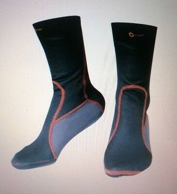 CALZE TERMALI, Thermo Socks, BLACK - by A PRO - Made in Italy