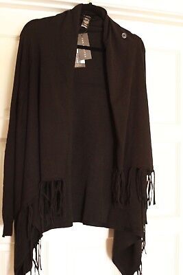 The Limited Convertible Fringe Cardigan *** FREE SHIPPING ***