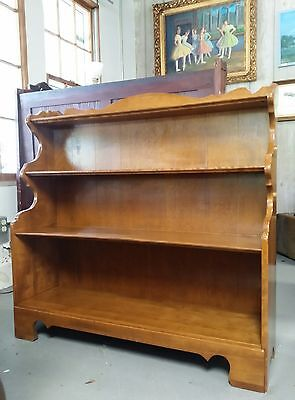 Maple Mid Century Bookshelf Ethan Allen