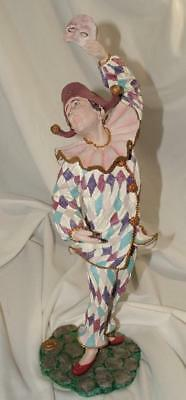 Duncan Royale HARLEQUIN History of Clown Rare Limited Ed Sculpture Figurine $300