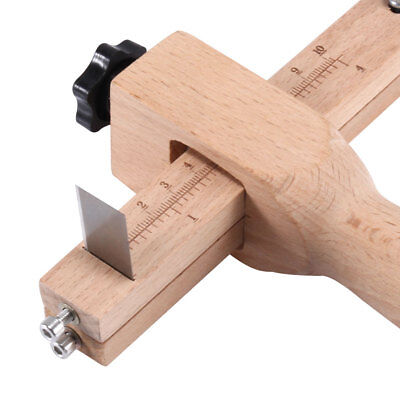 Adjustable Belt Leather Cutter Strap Tool Craft Cutting Hand Wooden DIY Making