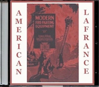 1926 American-LaFrance fire fighting equipment, Edition No. 10 on CD