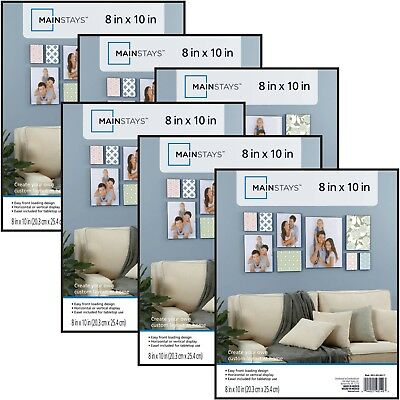 Likeable 8 X 10 Frames Mainstays 8x10 Format Picture Frame Set Of 6