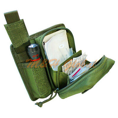 EMT Universal First Aid Kit IFAK Essential Medic Kit Bag - OD GREEN