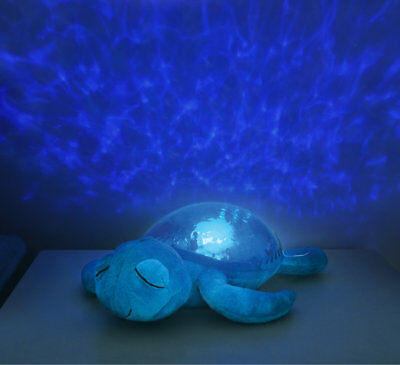 Cloud B Tranquil Turtle Blue -Night Light with Soothing Music