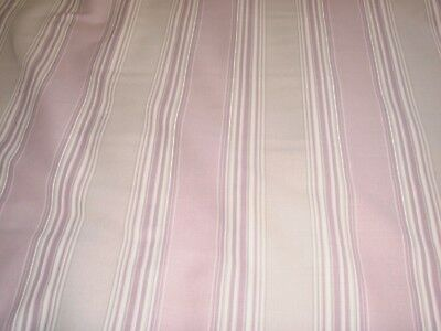 Awning Stripe Amethyst Set of 4 Laura Ashley 9 inch x 9 inch fabric off cuts
