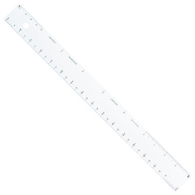 "Alumicolor 12"" 30cm Aluminum Straight Edge Ruler Architect Scale"