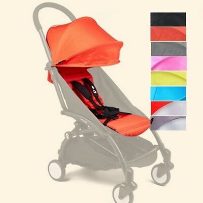 165°Sunshade Shed Cover + Seat Pad Mat Fit For Baby YOYO Stroller Accessories