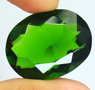 Best eBay Offer 111.45Ct EGL Certified AAA Grade Green Moldavite Gemstone AU3785