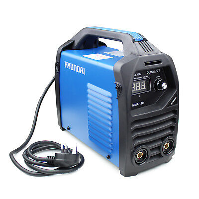 Hyundai Inverter Welder Arc MMA 120A 13 Amp Portable Stick Welding HYMMA120