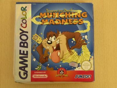 Nintendo Game Boy Colour Game Box TASMANIAN MUNCHING MADNESS Box ONLY 26805