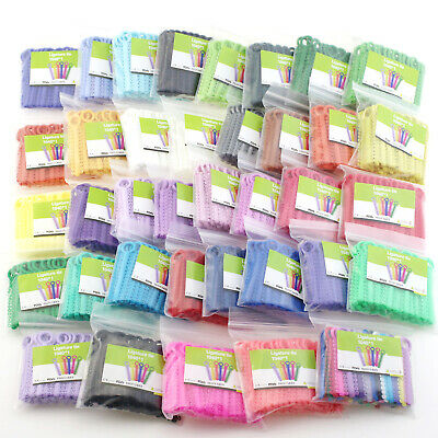 1040 Pc Dental Orthodontic Elastic Ligature Tie 36 Color Rubber Band Latex Ortho
