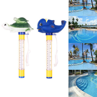 Pool/Spa Deluxe Floating Thermometer for Pond Baby Kids Bath Hot Tub Test Tools