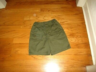 Boys Boy Scouts of America BSA Official Uniform Shorts Sz 18 Waist 29