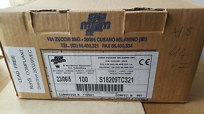 Mpm S18209Tc321 24V Solenoid Connector Qty: 100 (U4.7)