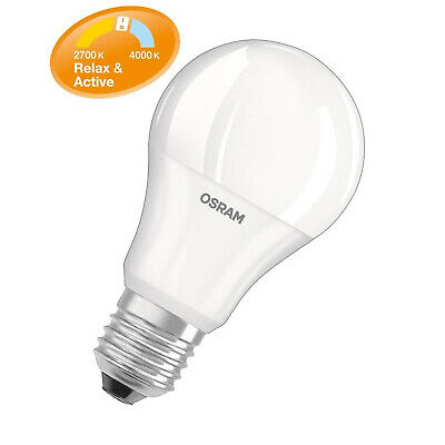 Osram LED Relax&Active Classic A75 E27 11W = 75W Warmweiß Clickdimmer 2700-4000K