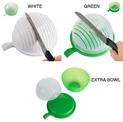Salad Chopper Bowl Maker Fruit Vegetable Bowl Cutter Slicer+EXTRA BIG BOWL