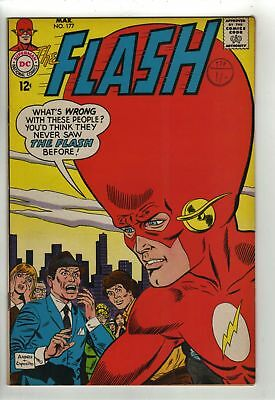 The Flash - No  177 -  1968 - VF+  HIGH GRADE!!