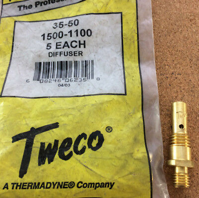 Tweco 35-50 Gas Diffuser MIG 1500-1100 For Mini Magnum 100L Multi Qty