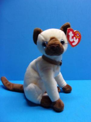 Ty Beanie Babies SIAM the Siamese Cat Plush 2000 Hang Tag Retired Toy 8f0295885cbb