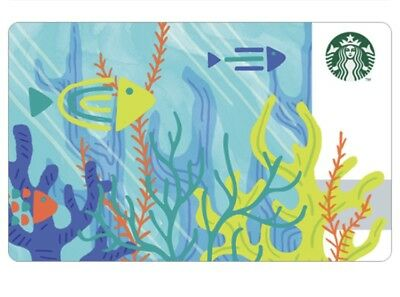 Starbucks Korea 2018 Summer Mini Card